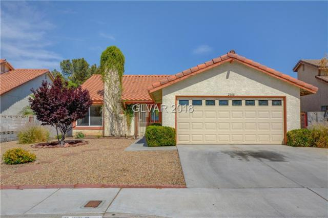 2306 Lone Pine, Henderson, NV 89014 (MLS #1994758) :: Signature Real Estate Group