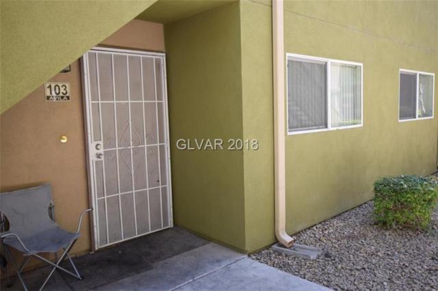 1806 Decatur #103, Las Vegas, NV 89108 (MLS #1995061) :: Trish Nash Team
