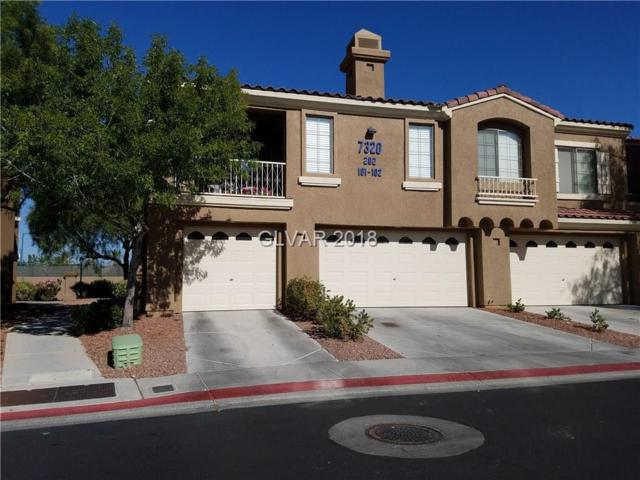 7320 Camrose Ridge #101, Las Vegas, NV 89149 (MLS #1995310) :: Signature Real Estate Group