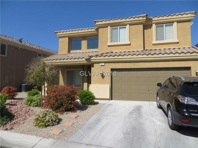 601 Over Par, Las Vegas, NV 89148 (MLS #1996106) :: Realty ONE Group
