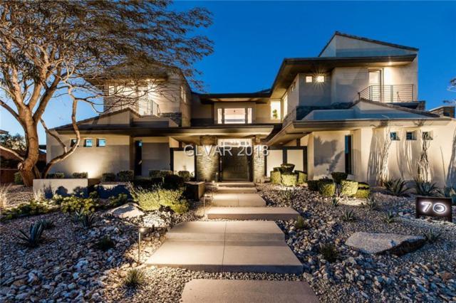 70 Hawk Ridge, Las Vegas, NV 89135 (MLS #1996136) :: The Snyder Group at Keller Williams Realty Las Vegas
