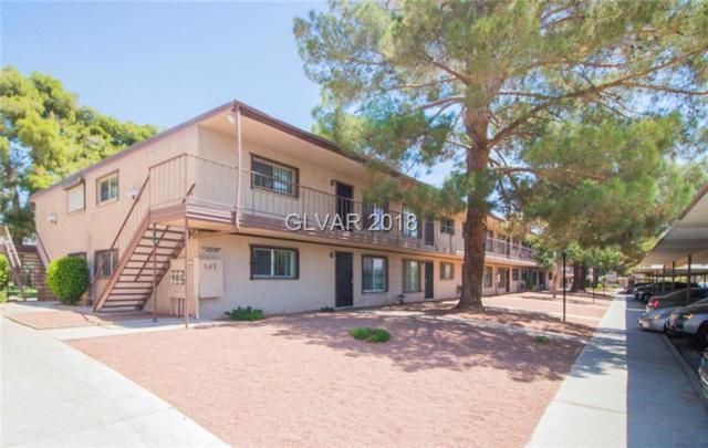585 Royal Crest #21, Las Vegas, NV 89169 (MLS #2001559) :: Signature Real Estate Group