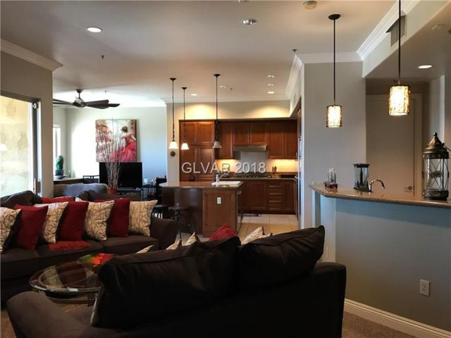 15 Via Mantova #201, Henderson, NV 89011 (MLS #2002215) :: Signature Real Estate Group