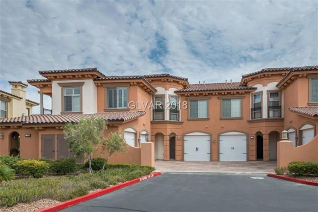 16 Via Visione #102, Henderson, NV 89011 (MLS #2002241) :: Trish Nash Team