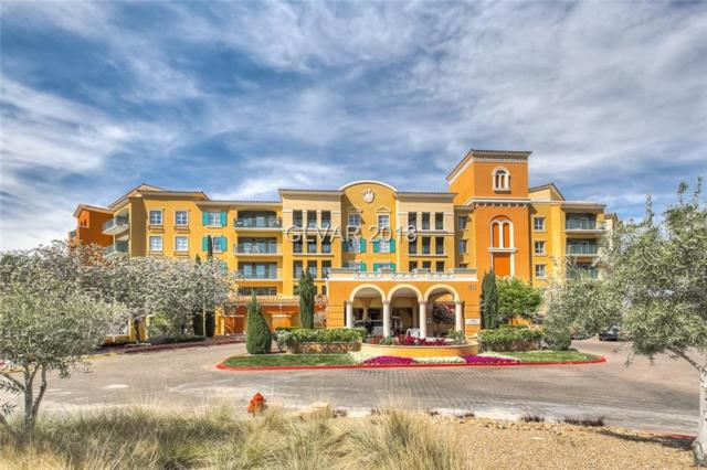 30 Strada Di Villaggio #108, Henderson, NV 89011 (MLS #2002532) :: The Snyder Group at Keller Williams Realty Las Vegas