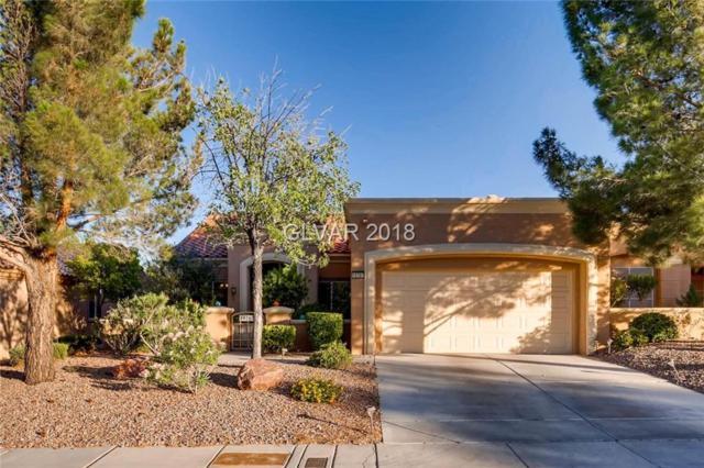 10707 Mission Lakes, Las Vegas, NV 89134 (MLS #2003330) :: Signature Real Estate Group