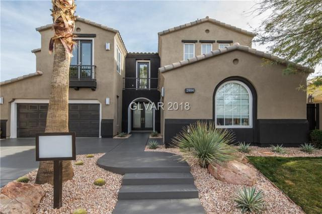 2804 Soft Horizon, Las Vegas, NV 89135 (MLS #2003645) :: Realty ONE Group