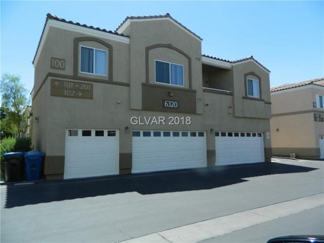 6320 Desert Leaf #102, North Las Vegas, NV 89081 (MLS #2004031) :: Realty ONE Group