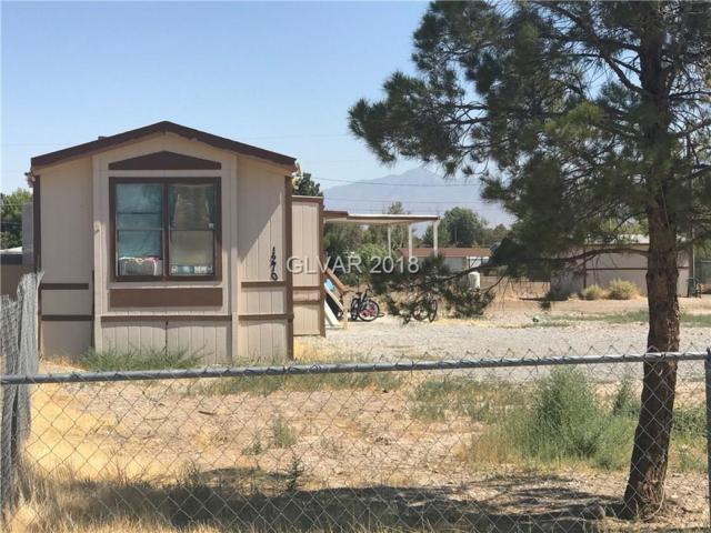 1270 W Hardy, Pahrump, NV 89048 (MLS #2004096) :: The Snyder Group at Keller Williams Realty Las Vegas