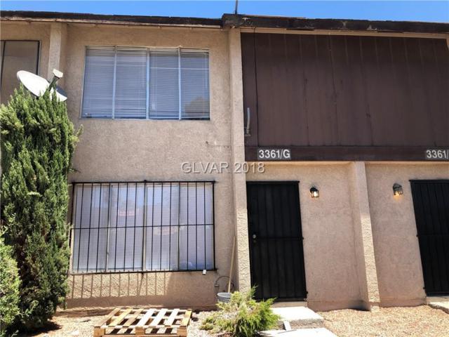 3361 Civic Center Drive G, North Las Vegas, NV 89030 (MLS #2004547) :: Signature Real Estate Group