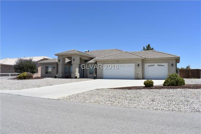 6361 S Waterford, Pahrump, NV 89061 (MLS #2004565) :: Signature Real Estate Group