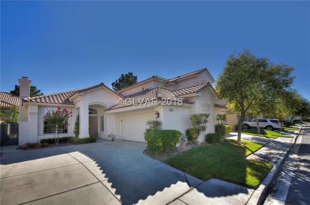 9125 Eagle Ridge, Las Vegas, NV 89134 (MLS #2004733) :: Sennes Squier Realty Group