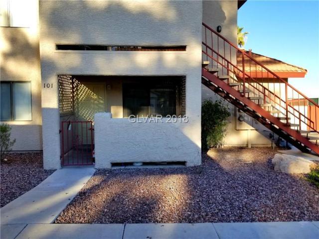 733 Rock Springs #101, Las Vegas, NV 89128 (MLS #2005311) :: Sennes Squier Realty Group