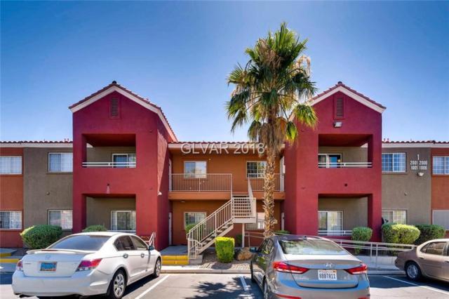 4730 Craig #2003, Las Vegas, NV 89115 (MLS #2005762) :: Signature Real Estate Group