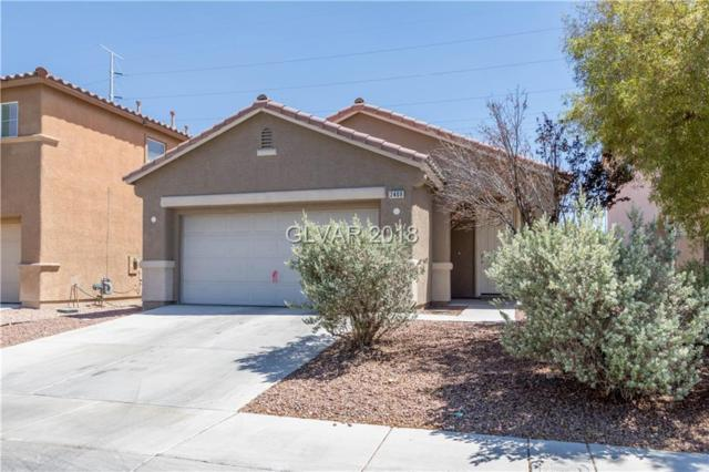 2409 Cockatiel, Las Vegas, NV 89084 (MLS #2005934) :: Realty ONE Group