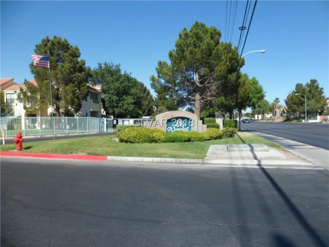 4831 Torrey Pines #106, Las Vegas, NV 89103 (MLS #2006705) :: Trish Nash Team