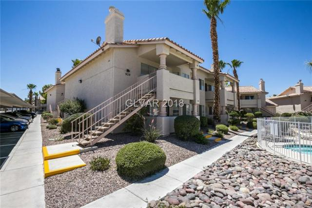 929 Falconhead #102, Las Vegas, NV 89128 (MLS #2007440) :: Signature Real Estate Group