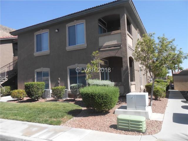 3375 Cactus Shadow #104, Las Vegas, NV 89129 (MLS #2008926) :: Trish Nash Team