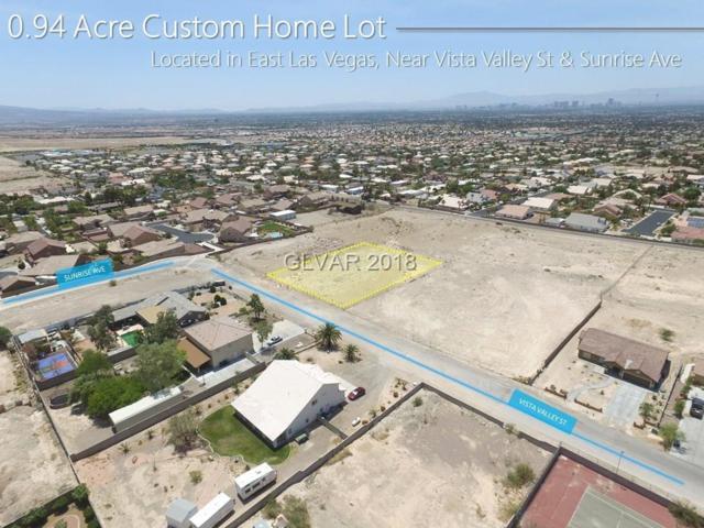 0 Vista Valley, Las Vegas, NV 89110 (MLS #2009002) :: Trish Nash Team