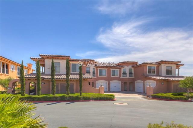 25 Via Visione #204, Henderson, NV 89011 (MLS #2009696) :: Trish Nash Team