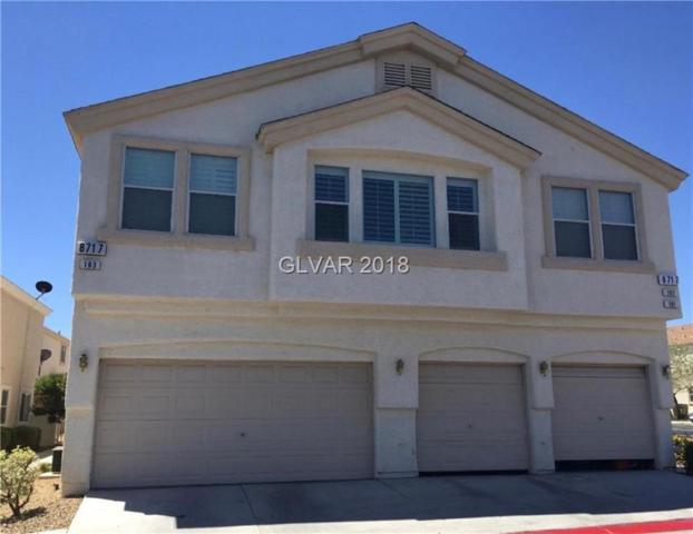 8717 Roping Rodeo #103, Las Vegas, NV 89178 (MLS #2009890) :: Sennes Squier Realty Group