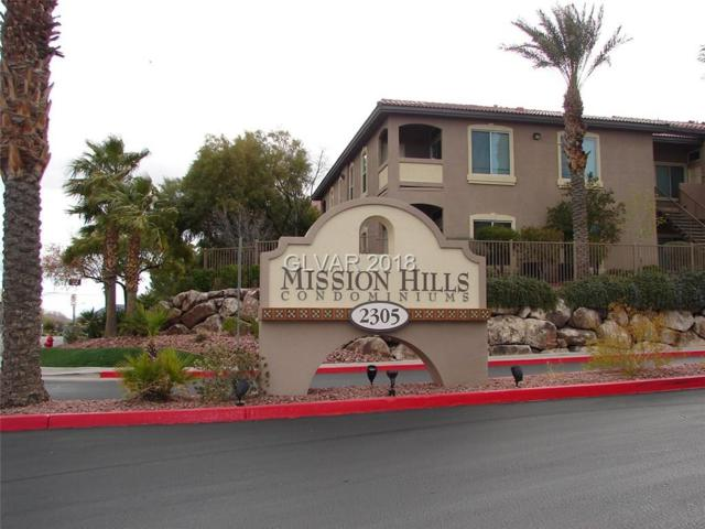 2305 Horizon Ridge #3122, Henderson, NV 89052 (MLS #2010174) :: Signature Real Estate Group