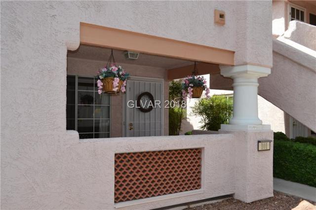 6844 Elm Creek #101, Las Vegas, NV 89108 (MLS #2010920) :: Signature Real Estate Group