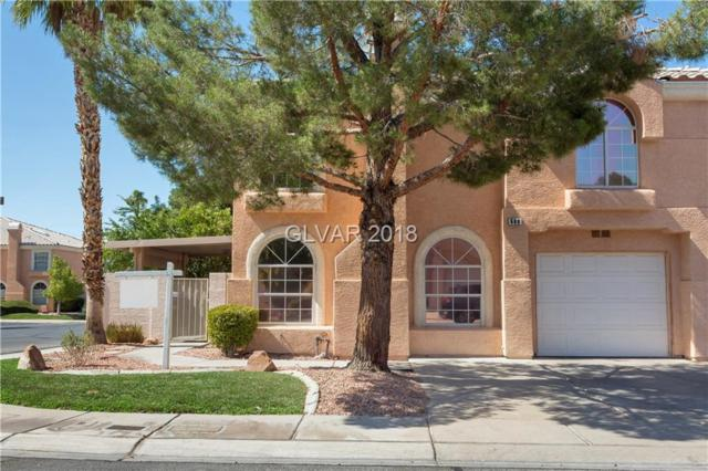 688 Corte Madera, Henderson, NV 89015 (MLS #2011147) :: Sennes Squier Realty Group