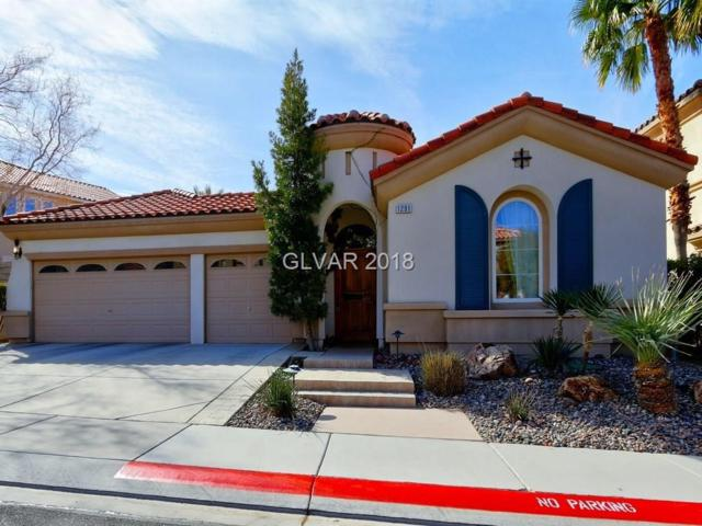 1291 Panini, Henderson, NV 89052 (MLS #2011165) :: Signature Real Estate Group