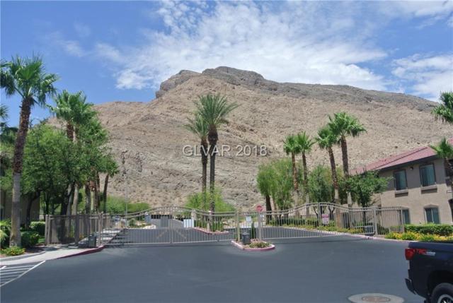 3450 Cactus Shadow #104, Las Vegas, NV 89129 (MLS #2011756) :: Trish Nash Team