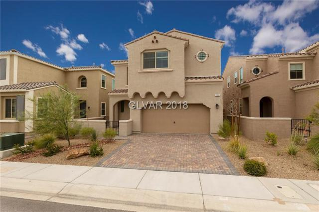 1156 Via San Pietro, Henderson, NV 89011 (MLS #2012545) :: Trish Nash Team