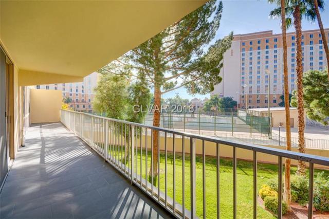 205 Harmon #309, Las Vegas, NV 89169 (MLS #2012938) :: Signature Real Estate Group