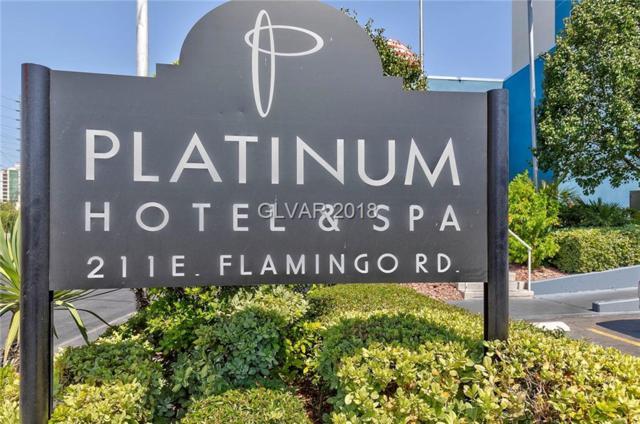 211 E Flamingo #618, Las Vegas, NV 89169 (MLS #2013255) :: Trish Nash Team