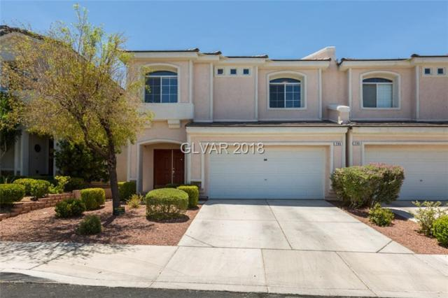 286 Spectacular, Henderson, NV 89052 (MLS #2013782) :: Signature Real Estate Group