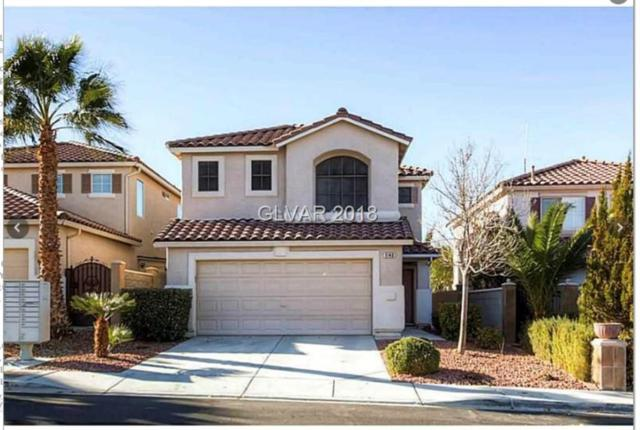 1143 Cathedral Ridge, Henderson, NV 89052 (MLS #2013859) :: Signature Real Estate Group