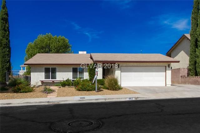 662 Arrayo, Boulder City, NV 89005 (MLS #2014171) :: Signature Real Estate Group