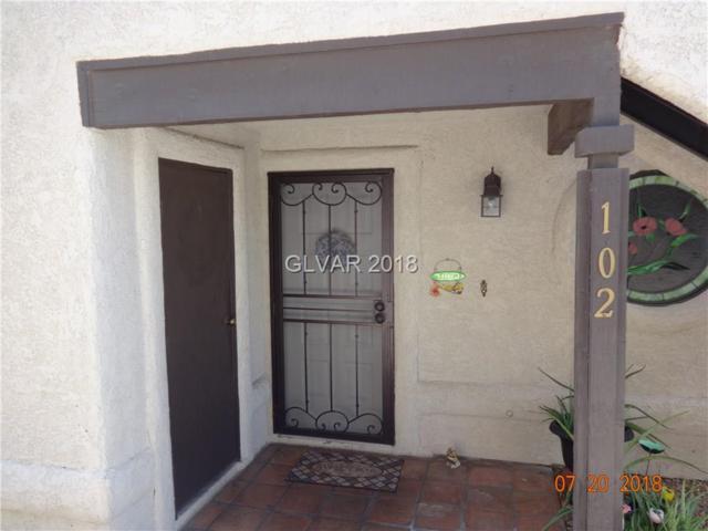 5068 Jeffreys #102, Las Vegas, NV 89119 (MLS #2014315) :: Vestuto Realty Group