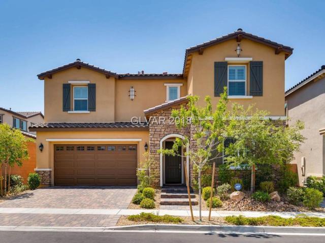 3209 San Maurizio, Henderson, NV 89044 (MLS #2015317) :: The Snyder Group at Keller Williams Realty Las Vegas