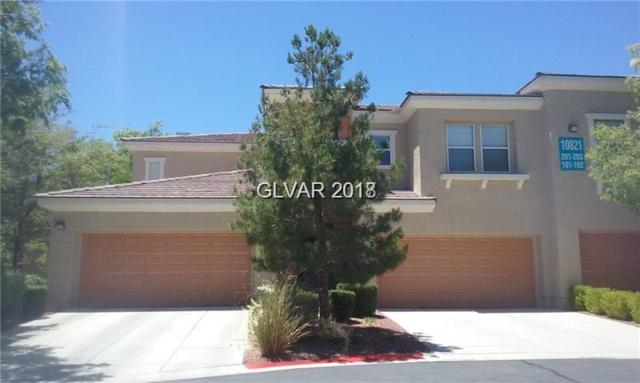 10821 Amber Ridge #201, Las Vegas, NV 89144 (MLS #2016872) :: Vestuto Realty Group