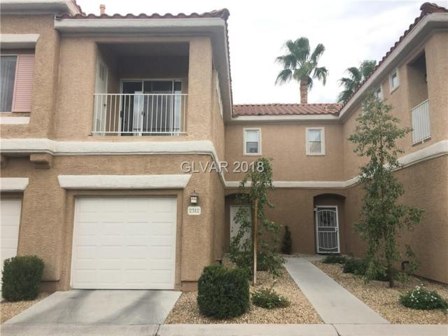 251 Green Valley #2312, Henderson, NV 89052 (MLS #2017648) :: Signature Real Estate Group