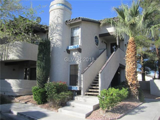 5088 Jeffreys #101, Las Vegas, NV 89119 (MLS #2018010) :: Vestuto Realty Group