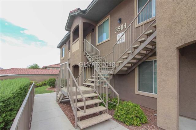3504 Desert Cliff #204, Las Vegas, NV 89129 (MLS #2019230) :: Signature Real Estate Group