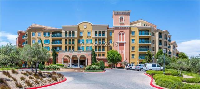 30 Strada Di Villaggio #625, Henderson, NV 89011 (MLS #2019743) :: The Snyder Group at Keller Williams Realty Las Vegas