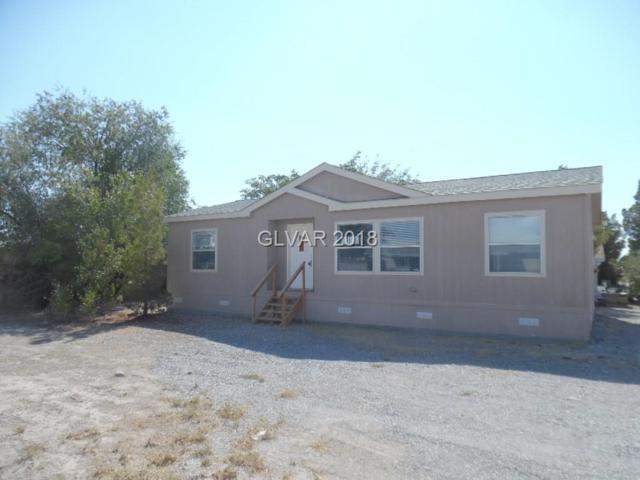 61 W Tonopah, Pahrump, NV 89048 (MLS #2022188) :: The Snyder Group at Keller Williams Realty Las Vegas