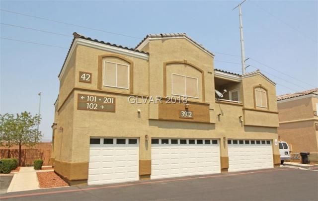 3912 Smokey Fog #201, North Las Vegas, NV 89081 (MLS #2022325) :: Signature Real Estate Group