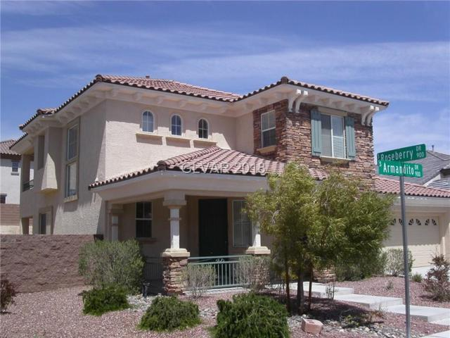 971 Armandito, Las Vegas, NV 89138 (MLS #2022673) :: The Snyder Group at Keller Williams Realty Las Vegas