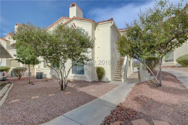 698 S Racetrack #1612, Henderson, NV 89015 (MLS #2023028) :: Signature Real Estate Group