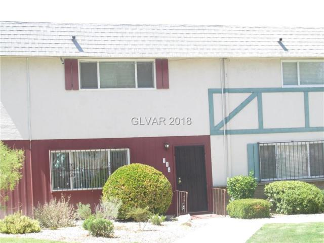 116 Greenbriar Townhouse, Las Vegas, NV 89121 (MLS #2023242) :: The Snyder Group at Keller Williams Marketplace One