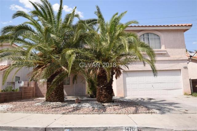 1470 Lodgepole, Henderson, NV 89014 (MLS #2023527) :: The Snyder Group at Keller Williams Realty Las Vegas