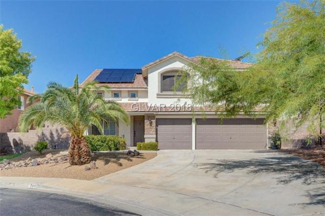 249 Farlin Cir., Henderson, NV 89074 (MLS #2023625) :: The Snyder Group at Keller Williams Realty Las Vegas